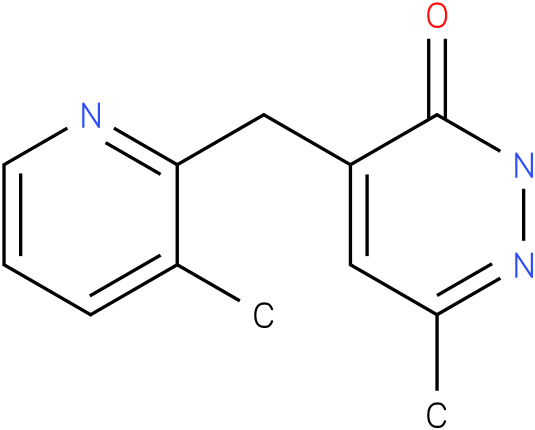 6-Methyl-4-(3-methyl-pyridin-2-ylmethyl)-2H-pyridazin-3-one