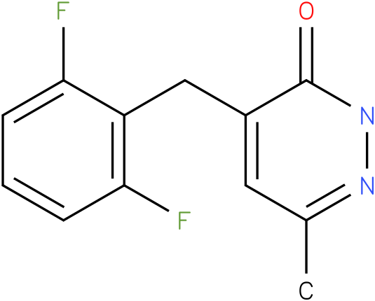 4-(2,6-Difluoro-benzyl)-6-methyl-2H-pyridazin-3-one
