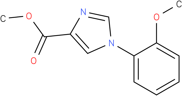 1-(2-Methoxy-phenyl)-1H-imidazole-4-carboxylic acid methyl ester
