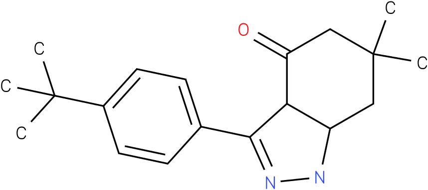 3-(4-tert-Butyl-phenyl)-6,6-dimethyl-1,3a,5,6,7,7a-hexahydro-indazol-4-one