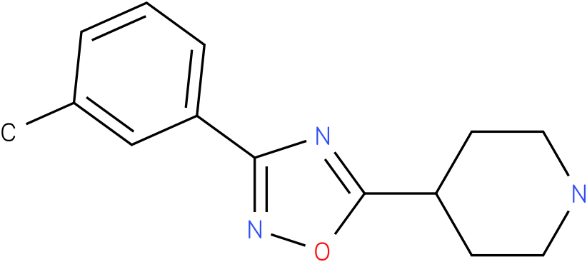 4-(3-m-Tolyl-[1,2,4]oxadiazol-5-yl)-piperidine