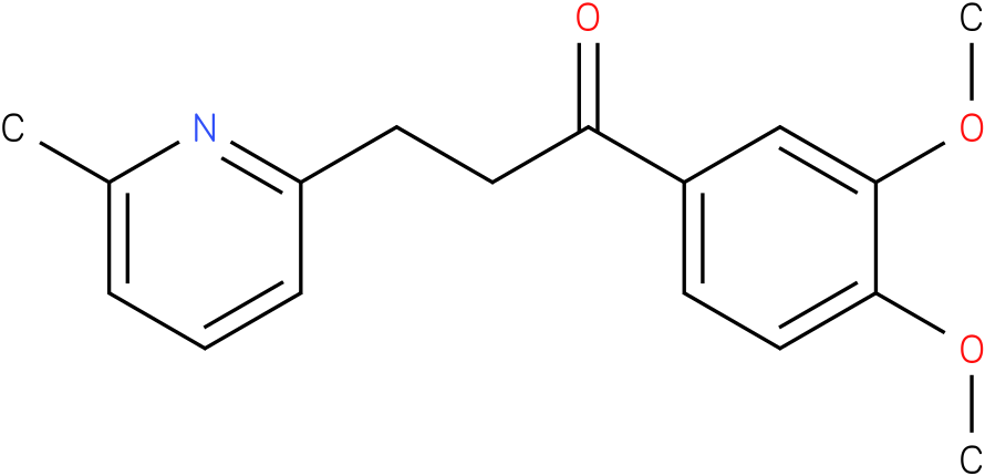 1-(3,4-Dimethoxy-phenyl)-3-(6-methyl-pyridin-2-yl)-propan-1-one