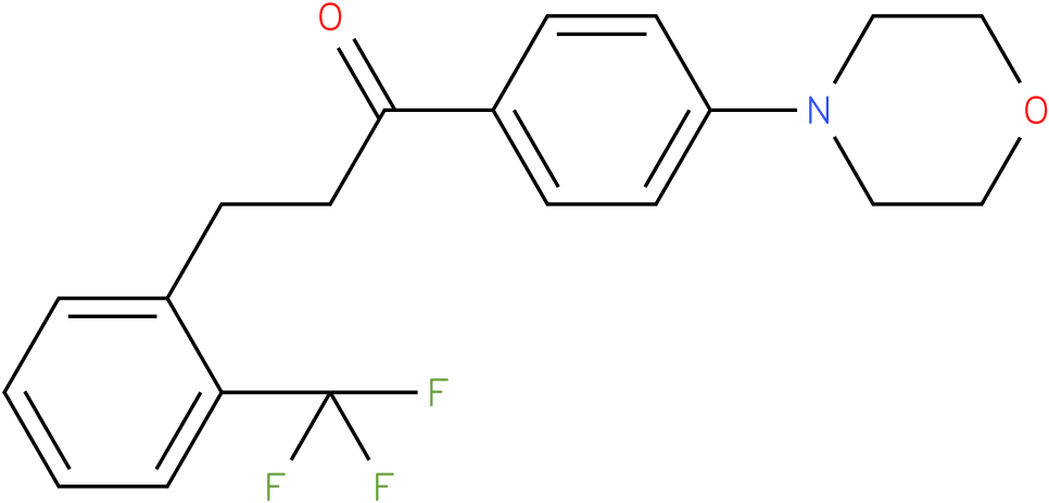 1-(4-Morpholin-4-yl-phenyl)-3-(2-trifluoromethyl-phenyl)-propan-1-one