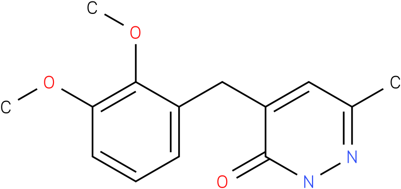 4-(2,3-Dimethoxy-benzyl)-6-methyl-2H-pyridazin-3-one