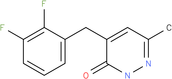 4-(2,3-Difluoro-benzyl)-6-methyl-2H-pyridazin-3-one