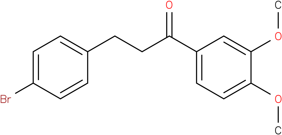 3-(4-Bromo-phenyl)-1-(3,4-dimethoxy-phenyl)-propan-1-one