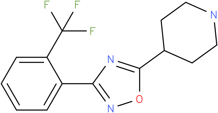 4-[3-(2-Trifluoromethyl-phenyl)-[1,2,4]oxadiazol-5-yl]-piperidine