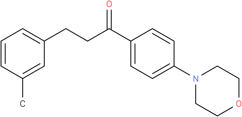 1-(4-Morpholin-4-yl-phenyl)-3-m-tolyl-propan-1-one