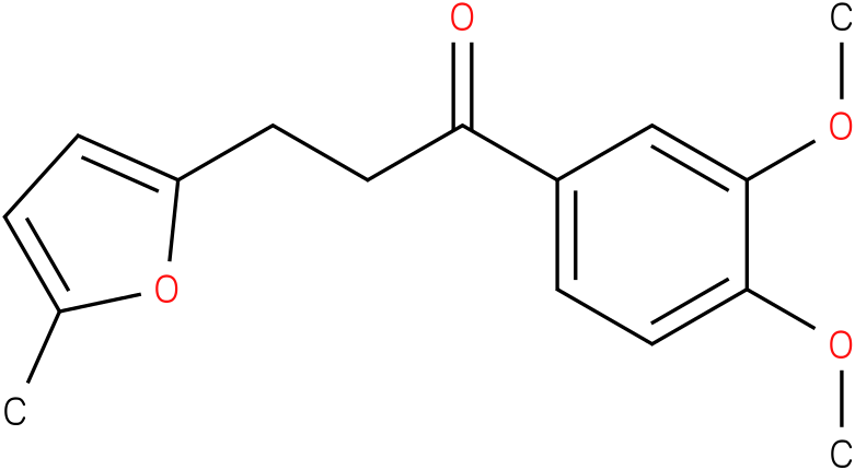 1-(3,4-Dimethoxy-phenyl)-3-(5-methyl-furan-2-yl)-propan-1-one