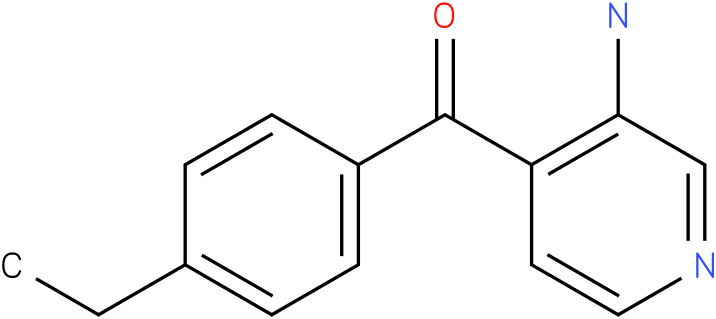 (3-Amino-pyridin-4-yl)-(4-ethyl-phenyl)-methanone