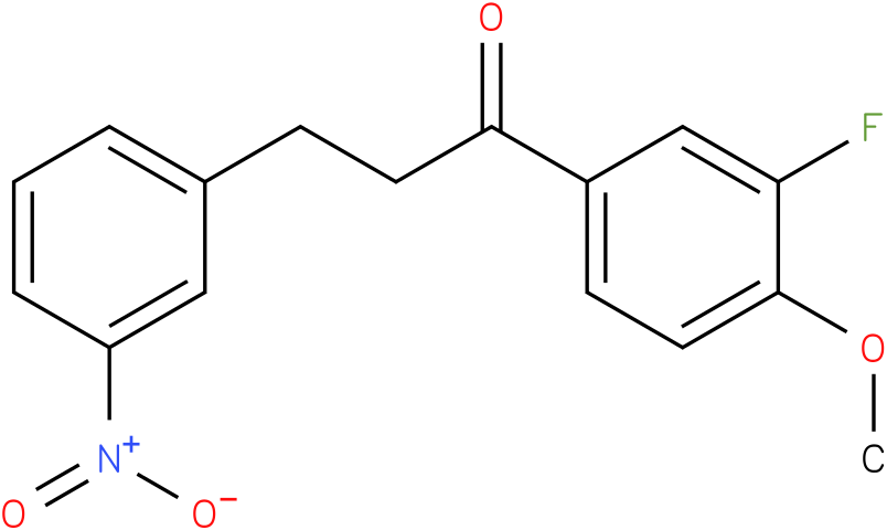 1-(3-Fluoro-4-methoxy-phenyl)-3-(3-nitro-phenyl)-propan-1-one