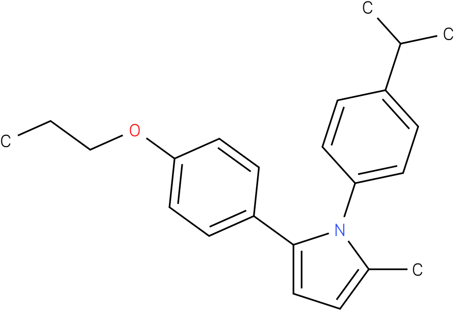 1-(4-Isopropyl-phenyl)-2-methyl-5-(4-propoxy-phenyl)-1H-pyrrole
