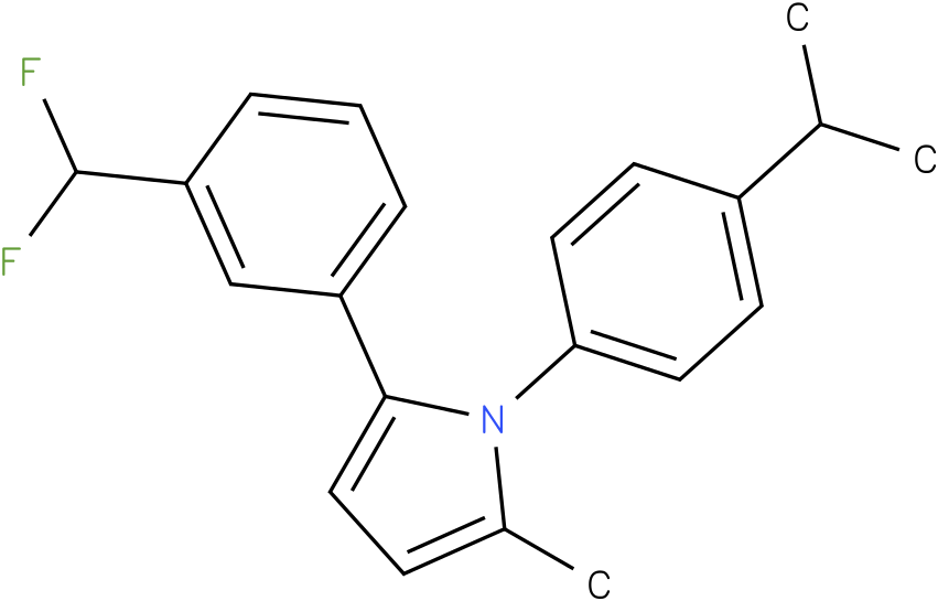 1-(4-Isopropyl-phenyl)-2-methyl-5-(3-trifluoromethyl-phenyl)-1H-pyrrole