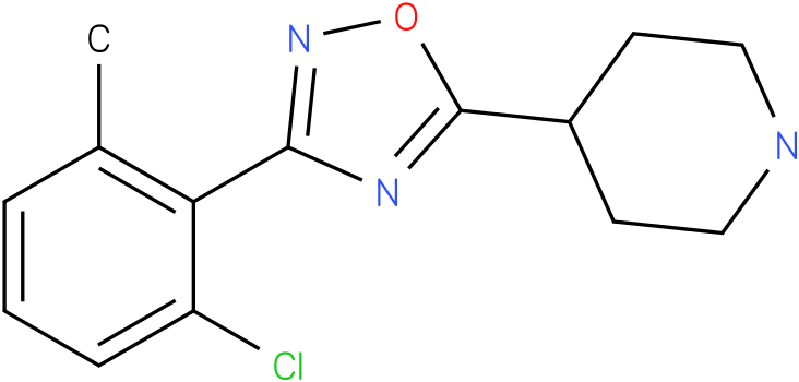 4-[3-(2-Chloro-6-methyl-phenyl)-[1,2,4]oxadiazol-5-yl]-piperidine