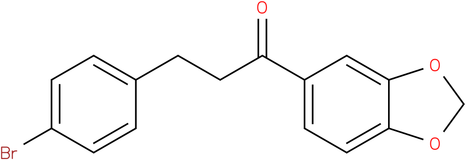 1-Benzo[1,3]dioxol-5-yl-3-(4-bromo-phenyl)-propan-1-one