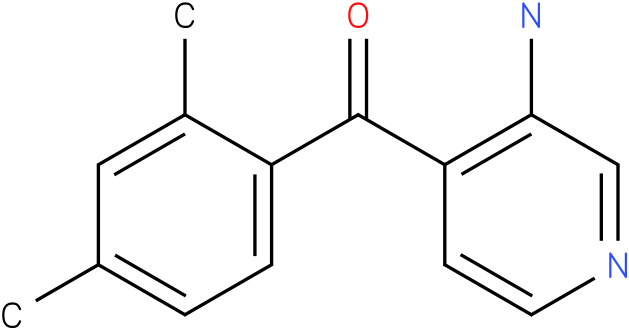 (3-Amino-pyridin-4-yl)-(2,4-dimethyl-phenyl)-methanone