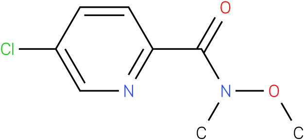 5-chloro-N-methoxy-N-methylpicolinamide
