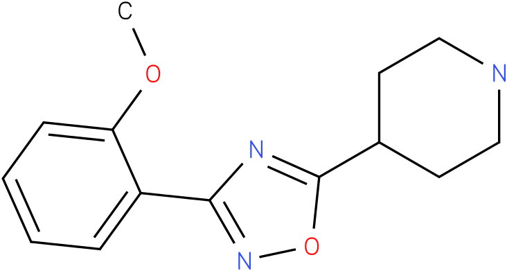 4-[3-(2-Methoxy-phenyl)-[1,2,4]oxadiazol-5-yl]-piperidine