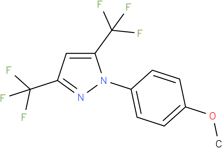 1-(4-Methoxy-phenyl)-3,5-bis-trifluoromethyl-1H-pyrazole