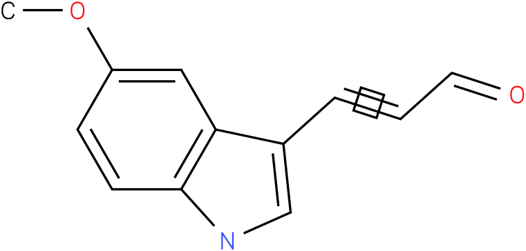 1-(5-Methoxy-1H-indol-3-yl)-propenone
