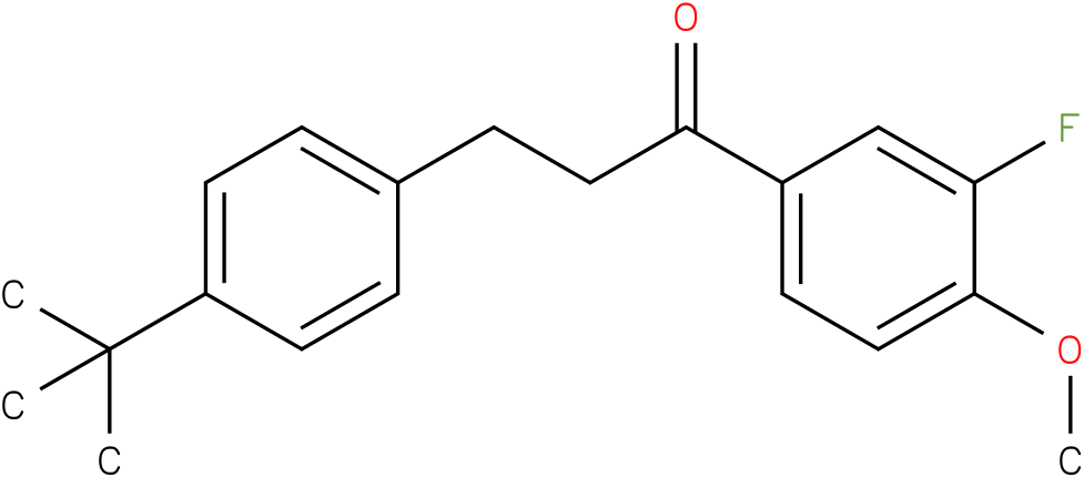 3-(4-tert-Butyl-phenyl)-1-(3-fluoro-4-methoxy-phenyl)-propan-1-one