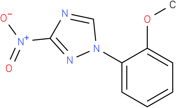 1-(2-Methoxy-phenyl)-3-nitro-1H-[1,2,4]triazole