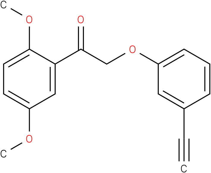 1-(2,5-Dimethoxy-phenyl)-2-(3-ethynyl-phenoxy)-ethanone