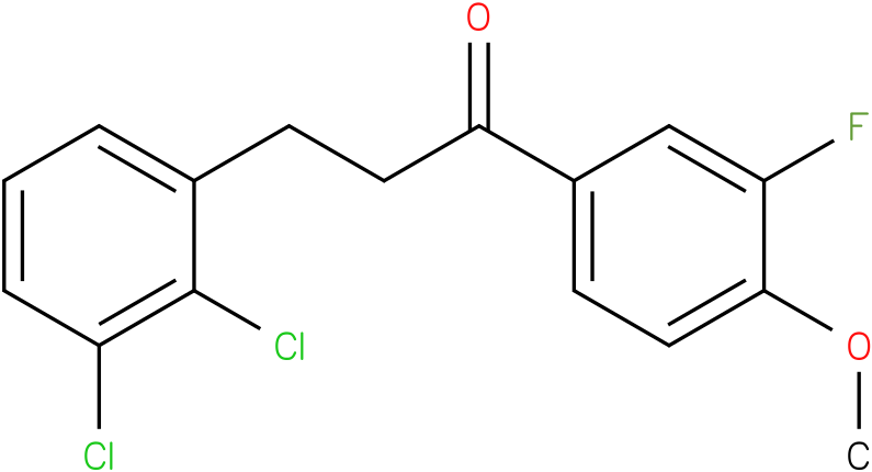 3-(2,3-Dichloro-phenyl)-1-(3-fluoro-4-methoxy-phenyl)-propan-1-one