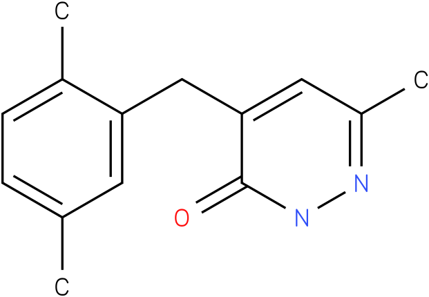 4-(2,5-Dimethyl-benzyl)-6-methyl-2H-pyridazin-3-one