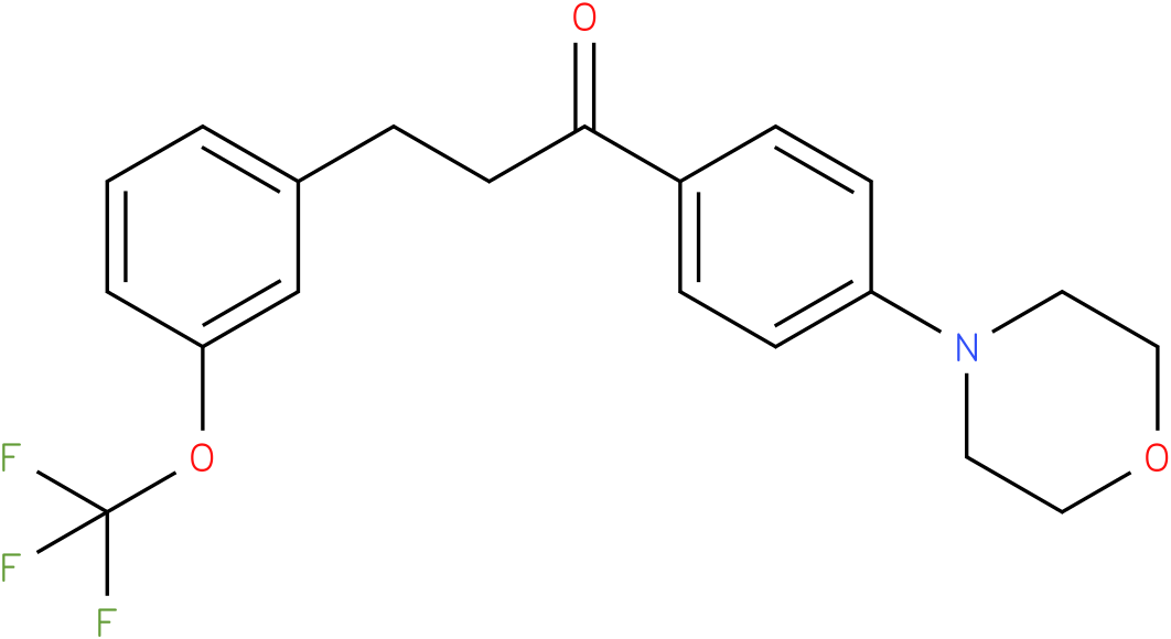 1-(4-Morpholin-4-yl-phenyl)-3-(3-trifluoromethoxy-phenyl)-propan-1-one