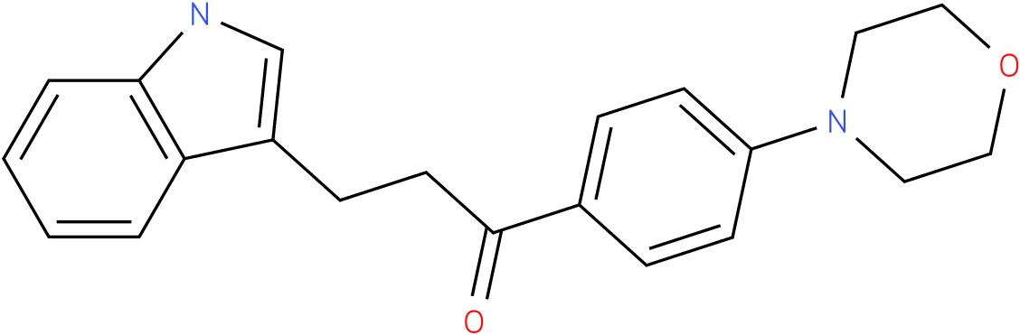 3-(1H-Indol-3-yl)-1-(4-morpholin-4-yl-phenyl)-propan-1-one