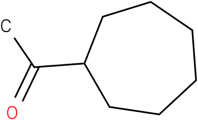 1-cycloheptylethanone