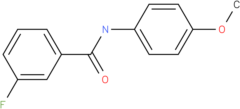 3-Fluoro-N-(4-methoxy-phenyl)-benzamide