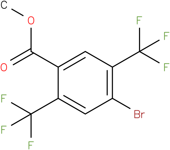 methyl 4-bromo-2,5-bis(trifluoromethyl)benzoate