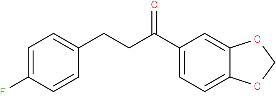1-Benzo[1,3]dioxol-5-yl-3-(4-fluoro-phenyl)-propan-1-one