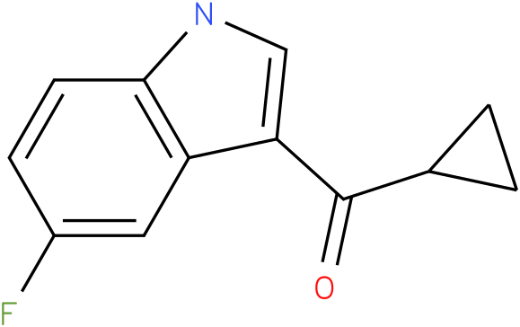 Cyclopropyl-(5-fluoro-1H-indol-3-yl)-methanone