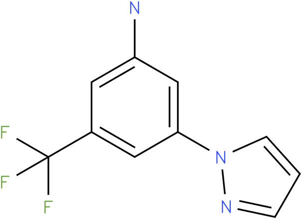 3-Pyrazol-1-yl-5-trifluoromethyl-phenylamine