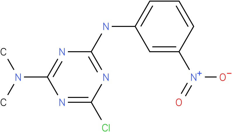 6-Chloro- N,N-dimethyl-N'-(3-nitro-phenyl)-[1,3,5]triazine-2,4-diamine