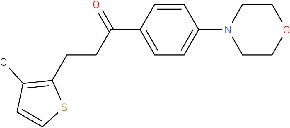 3-(3-Methyl-thiophen-2-yl)-1-(4-morpholin-4-yl-phenyl)-propan-1-one