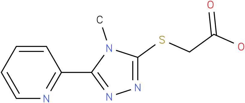 (4-Methyl-5-pyridin-2-yl-4H-[1,2,4]triazol-3-ylsulfanyl)-acetic acid