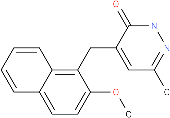 4-(2-Methoxy-naphthalen-1-ylmethyl)-6-methyl-2H-pyridazin-3-one