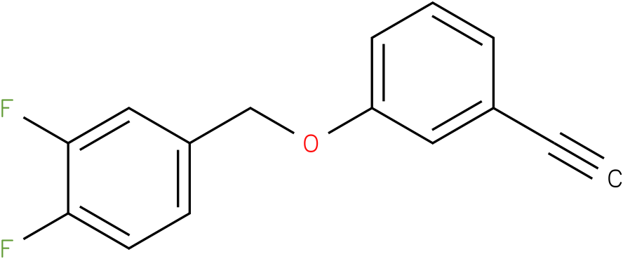 4-(3-Ethynyl-phenoxymethyl)-1,2-difluoro-benzene