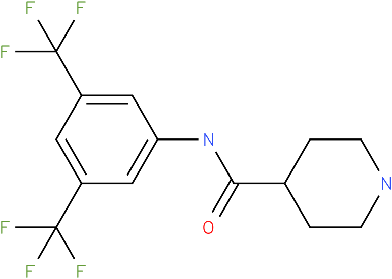 Piperidine-4-carboxylic acid (3,5-bis-trifluoromethyl-phenyl)-amide