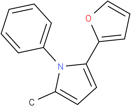 2-Furan-2-yl-5-methyl-1-phenyl-1H-pyrrole