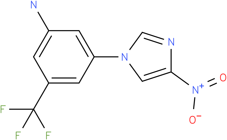 3-(4-Nitro-imidazol-1-yl)-5-trifluoromethyl-phenylamine