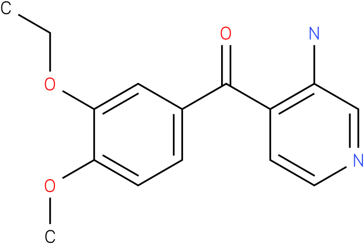 (3-Amino-pyridin-4-yl)-(3-ethoxy-4-methoxy-phenyl)-methanone