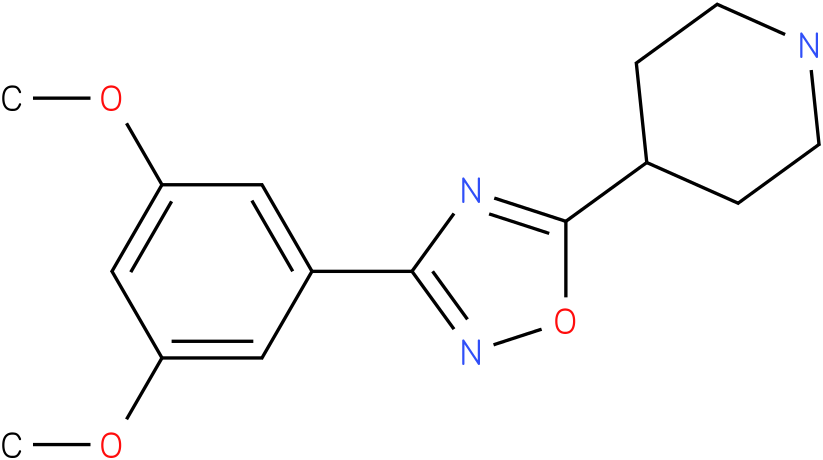 4-[3-(3,5-Dimethoxy-phenyl)-[1,2,4]oxadiazol-5-yl]-piperidine