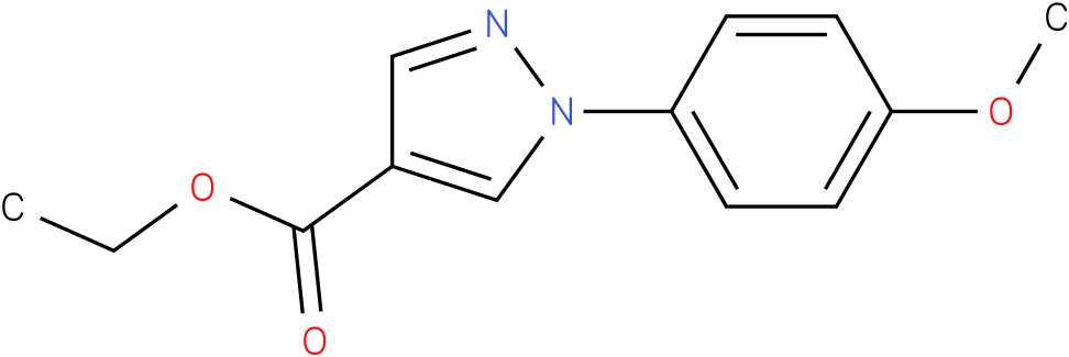 1-(4-Methoxy-phenyl)-1H-pyrazole-4-carboxylic acid ethyl ester