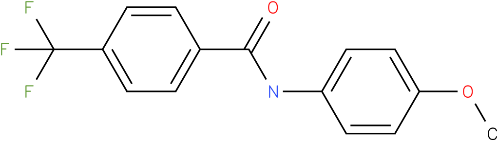 N-(4-Methoxy-phenyl)-4-trifluoromethyl-benzamide