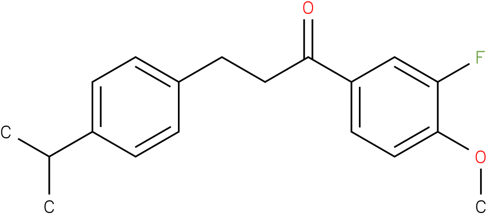 1-(3-Fluoro-4-methoxy-phenyl)-3-(4-isopropyl-phenyl)-propan-1-one